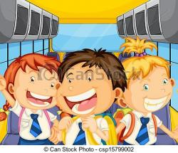 Inside clipart school bus