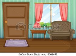 Inside clipart view a house