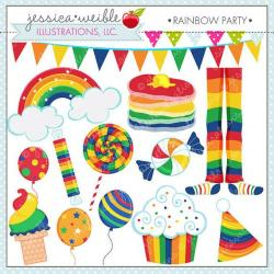 Inspirational clipart cute rainbow