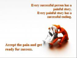 Motivational clipart successful person