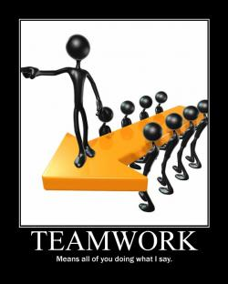 Motivational clipart teamwork