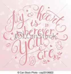 Inspirational clipart hand heart