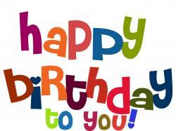 Lazer clipart happy birthday