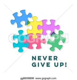 Inspirational clipart puzzle