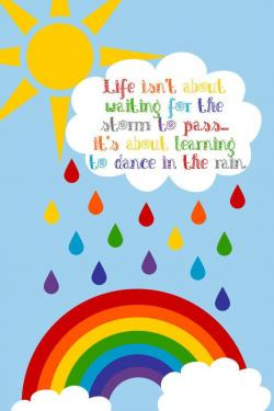 Inspirational clipart rainbow