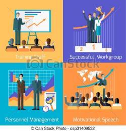 Inspirational clipart staff training