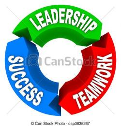 Motivational clipart leader