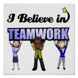 Inspirational clipart teamwork