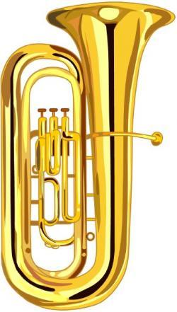 Brass clipart baritone