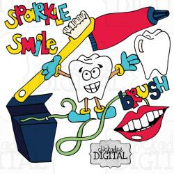 Toothbrush clipart dentist tool