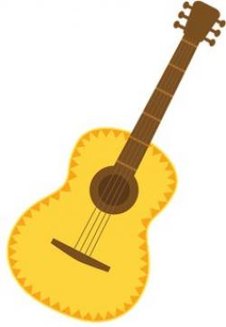Instrument clipart mexican guitar