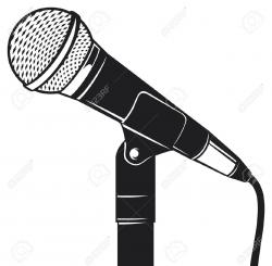 Microphone clipart source information