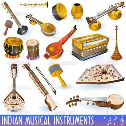Chimes clipart indian music instrument