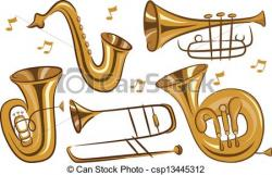 Brass clipart woodwind instrument