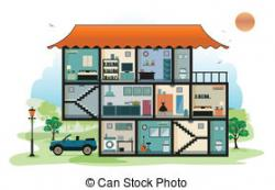Interior Designs clipart part the house