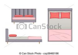 Interior Designs clipart bedroom scene