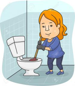 Interior Designs clipart clean bathroom