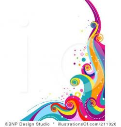 Interior Designs clipart colorful swirl