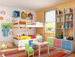Interior Designs clipart kids bedroom