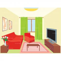 Living Room clipart sitting room
