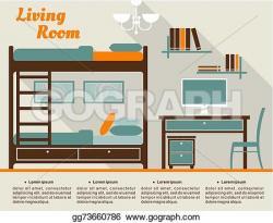 Interior Designs clipart stock