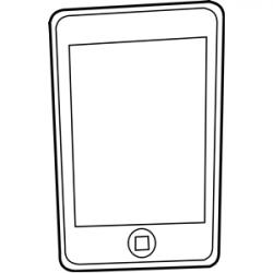 Ipod clipart handphone