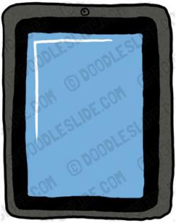 Ipad clipart tablet