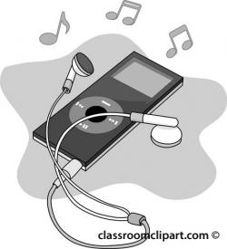 Headphone clipart ipod headphone