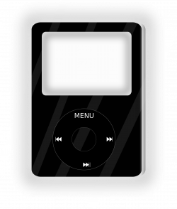 Ipod clipart music player