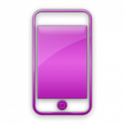 Ipod clipart pink
