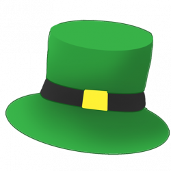 Irish clipart leprechaun hat