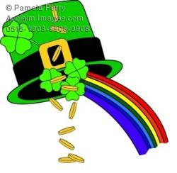 Coin clipart leprechaun