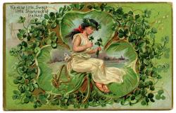 Ireland clipart vintage