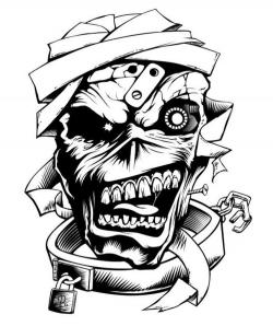 Iron Maiden clipart letter