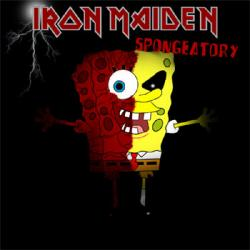 Iron Maiden clipart spongebob