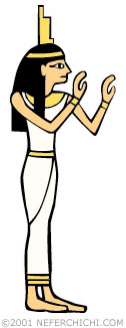 Goddess clipart isis