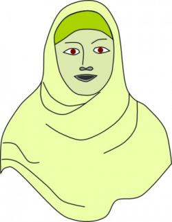 Veil clipart islamic