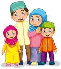 Islam clipart malaysian person