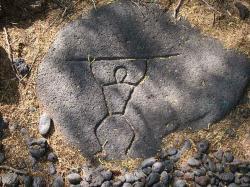 Eiland clipart hawaiian petroglyph