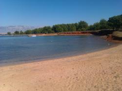 Islet clipart sandy beach
