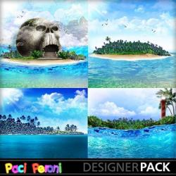 Islet clipart vacation