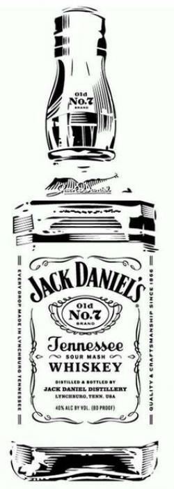 Jack Daniels clipart