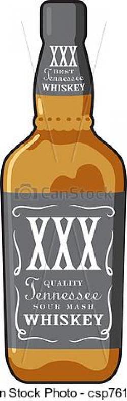 Boose clipart whisky bottle