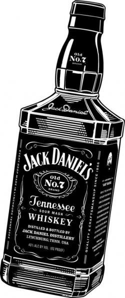 Whisky clipart jack daniels