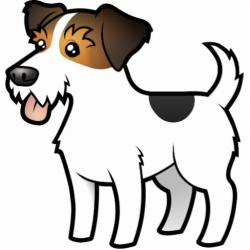 Jack Russell Terrier clipart small dog