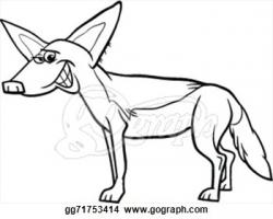 Jackal clipart cartoon
