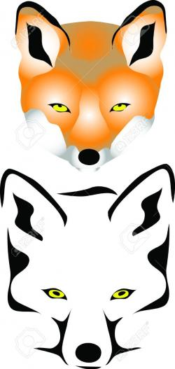 Jackal clipart fox head