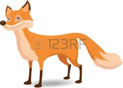 Jackal clipart orange fox