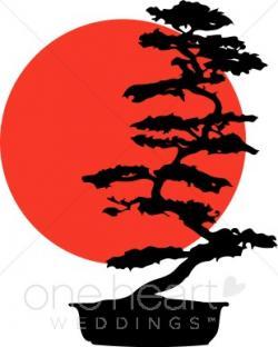Bonsai clipart chinese tree