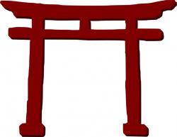 Japanese clipart entrance
